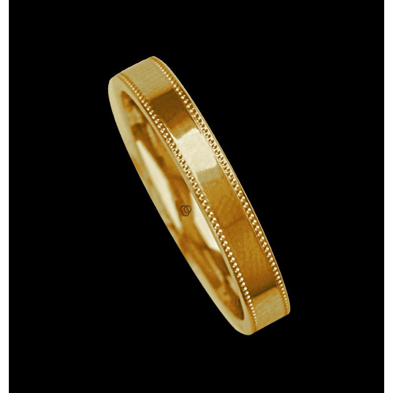 Ring / wedding ring 18 carat white gold polished finish model ab535634ew