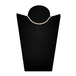 Choker necklace with white pearls - model Dream