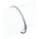 Bracciale Tennis in oro bianco 18 kt e diamanti bianchi - Modello White