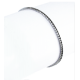 Теннисный браслет из белого золота и черными бриллиантами - Модель Black