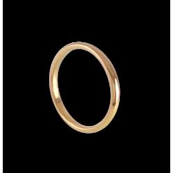 Anello/fede nuziale in oro giallo 18 kt modello ag0258lew