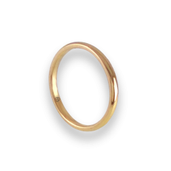 Ring in yellow gold 18k model ag0258lew