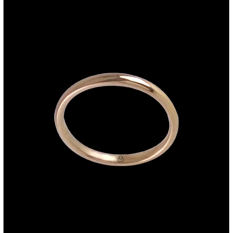 Ring in rose gold 18k model ar0258lew