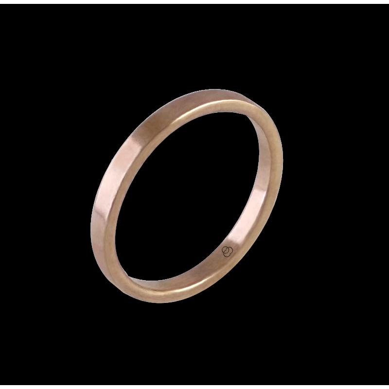 Anello in oro rosa 18 kt modello ar1268lew