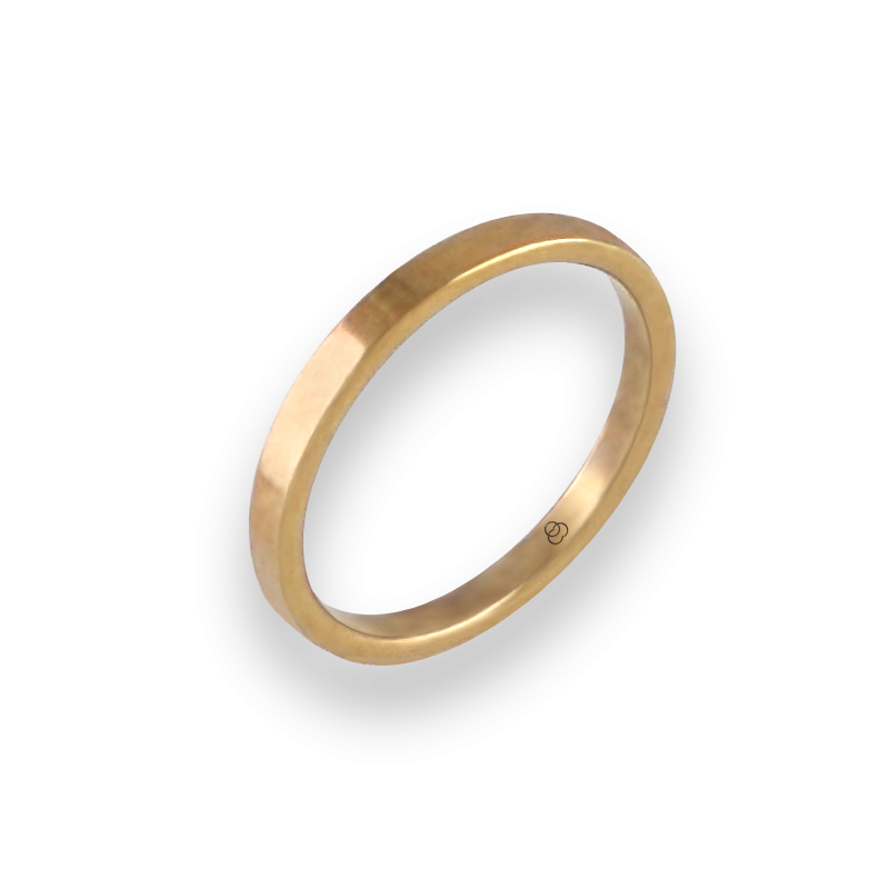Ring in yellow gold 18k model ag1268lew