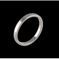 Ring in white gold 18k model ab1268lew