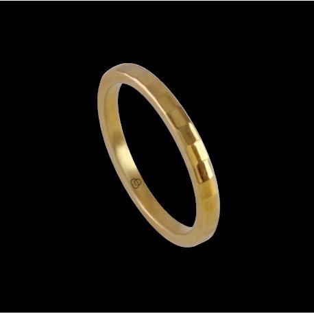 Ring in yellow gold 18k model ag121434ew