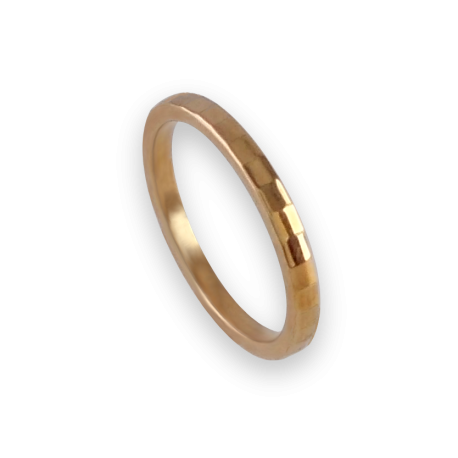 Ring in rose gold 18k model ar121434ew