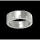 Unisex ring in white gold 18k with 12 + 12 diamonds polished finish model ab56779dw