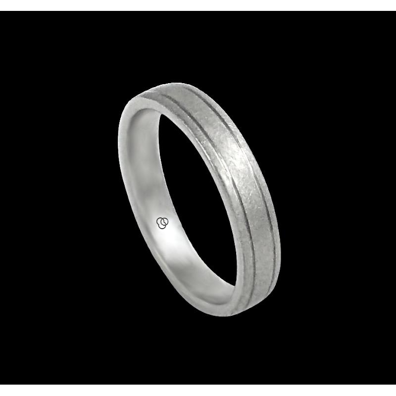 Кольцо из белого золота 18 карат отделка льда модель jb540334ew