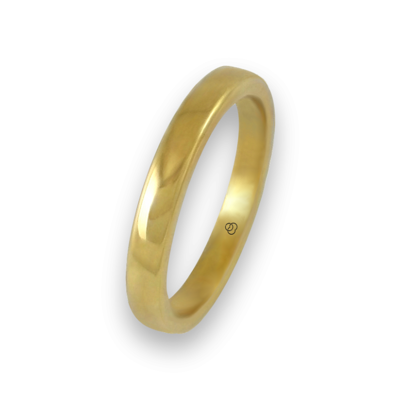 Ring in yellow gold 18k polished finish model g5.3-632-21ew