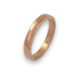 Ring in rose gold 18k polished finish model q5.3-632-31ew