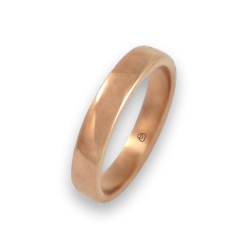 Ring in rose gold 18k polished finish model q5.4-632-51ew