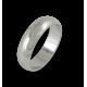Кольцо из белого золота 18 карат, полированная поверхность модели ab06-10ew