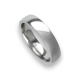 Woman ring for wedding in white gold 18k polished and sandblast finish model vabCuoreObSa03ew