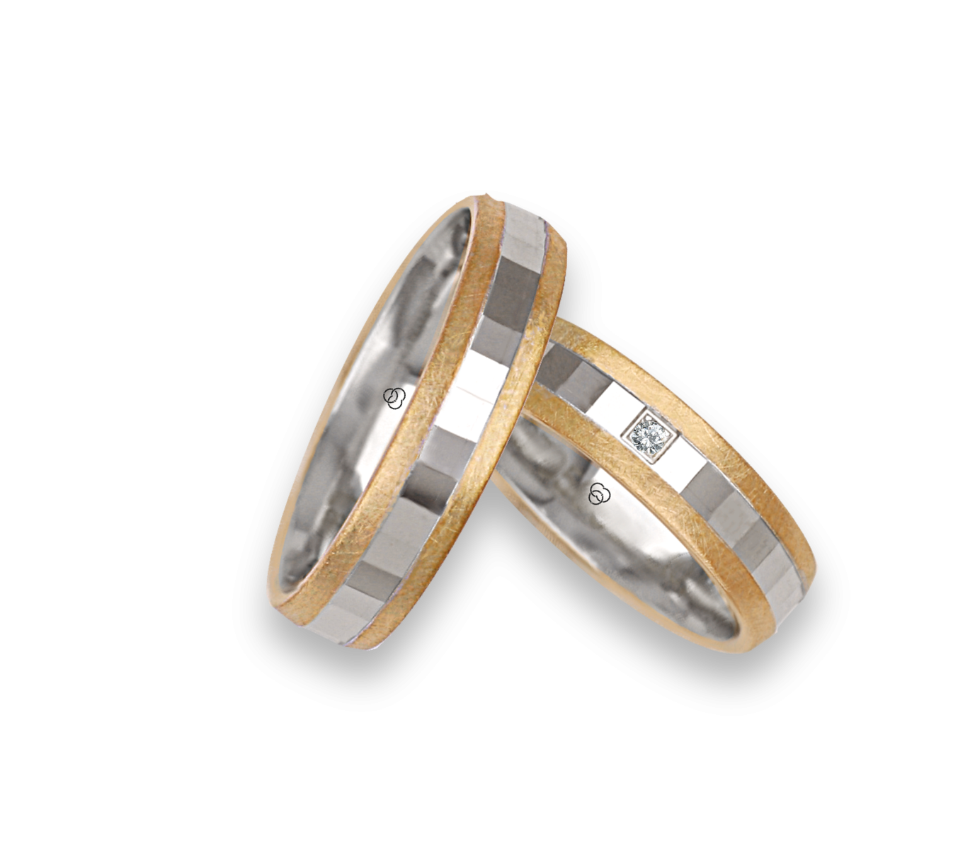 Wedding Rings In Gold And Platinum Made In Italy Ringsinfinity
